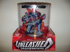 Retired nisp TRANSFORMERS UNLEASHED Autobot Leader OPTIMUS PRIME Sculpture model