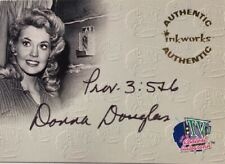 Donna Douglas Autograph A2 as Elly May in Beverly Hillbillies, Inkworks