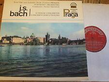 SUA ST 50672 Bach Violin Concertos / Suk / Jasek / Smetacek