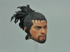 "Head Sculpt for WOLFKING WK89015A MIYAMOTO MUSASHI 2.0 1/6 12"" Scale Action New"