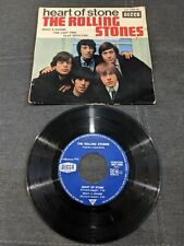 Disque 45 tours The Rolling Stones - Heart Of Stone - 457.066 DECCA (VG record)