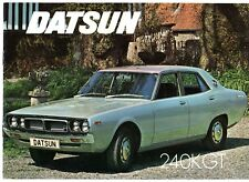 Datsun Nissan Skyline 240K GT 1973-74 UK Market Sales Brochure