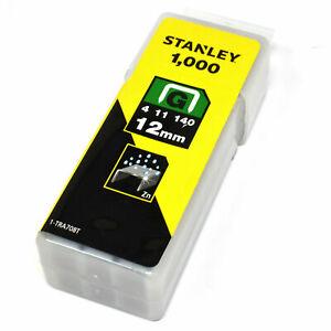 12mm Resistente Stanley Ricarica Graffette 1-TRA708T 1000pk