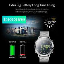 Diggro Smart Watch Armband IP68 Wasserdicht 5ATM Schrittzähler Sports Tracker EU