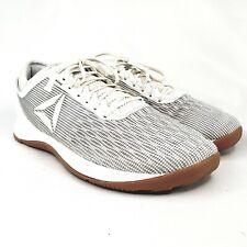 Reebok CrossFit Nano 8 Men's 10.5 M White Gum Sole Flex Weave Athletic Shoes