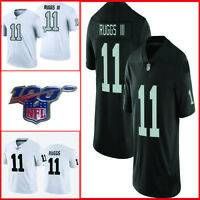 HENRY RUGGS III Men's 2020 Raiders Jersey NFL patch Size S-3XL Color Black White