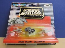 Italian SEALED star wars MICRO MACHINES set collection 3 GUERRE STELLARI X32