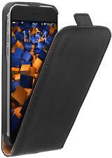 mumbi Leder Tasche Flip Case für Apple iPhone 6 6s Hülle Schutzhülle Wallet Etui