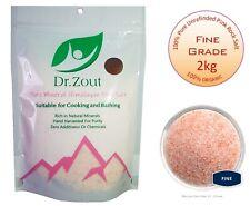 Himalayan Pink Salt 2kg Unrefined Pure - Naturally Organic - Food Grade