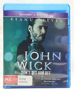 John Wick Blu-Ray Movie - REGION B -  Keanu Reeves - With TRACKING