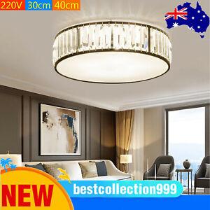 30/40cm Modern Luxury Crystal Ceiling Light Flush Mount Chandelier Pendant Light