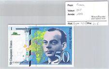 BILLET FRANCE - 50 FRANCS 1997