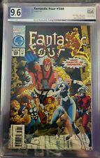 Fantastic Four #388 PGX 9.6 1994 - AVENGERS APPEARANCE