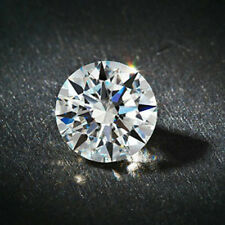 GIA Certified Natural Diamond VVS2 Clarity Round Cut 0.35 Ct. D Color Diamond