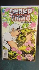 Dc Comics 52 Swamp Thing # 18 Signed Yanick Paquette