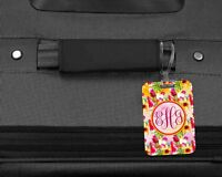 Personalized & Monogrammed  2 Sided Fiber Glass Reinforced Plastic Luggage Tag