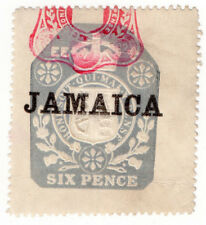 (I.B) Jamaica Revenue : Duty Stamp 6d