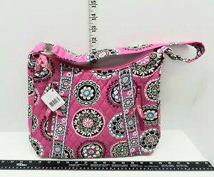 Vera Bradley Pink Cupcakes Lisa B Hobo Shoulder Purse Beautiful Bag NWT