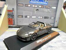 PORSCHE 911 992 Targa 4S Carrera grau grey met. 2020 Minichamps Dealer 1:43