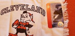 Cleveland Browns Elf Brownie Rally Towel