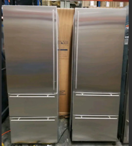 SUB ZERO FP7T484DLH/S STAINLESS STEEL RIGHT HAND DOOR PANEL