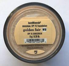 Bare Escentuals Bare Minerals Foundation GOLDEN FAIR W10 8g XL ORIGINAL SPF15