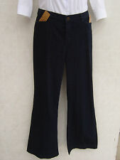 Ralph Lauren Womens Polo Jeans 10 Pants 33 29 WXI Denim Blue Navy Nolita Zip Leg
