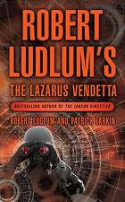 """AS NEW"" THE LAZARUS VENDETTA (A Covert-One Novel), Larkin, Patrick, Ludlum, Rob"