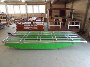 Schwimmkörper - Plattform zum Bau von Floßboot, Katamaran, Pontonboot