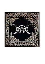 "Triple Goddess~Pentacle Altar/Tarot Cloth-24""x 24"""