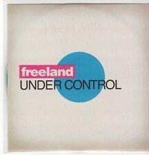 (AW898) Freeland, Under Control - DJ CD