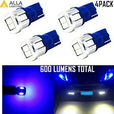 Alla Lighting 4x Blue 6-LED Interior Map Dome Courtesy Tag Light Bulbs Lamps 194