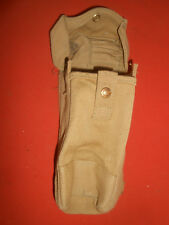 CANADIAN ARMY :- 1941 WWII , BREN GUN 1 Ammo Pouch , Canvas  Web ,WWII 1941