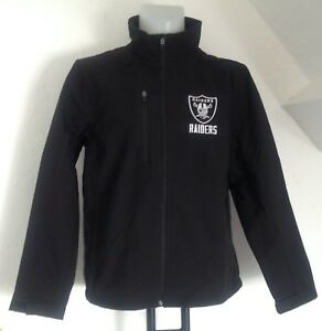 OAKLAND RAIDERS NFL SOFT SHELL JACKET BY CARL BANKS SIZE MEN'S LARGE BRAND NEW