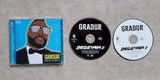 "CD AUDIO  MUSIQUE / GRADUR ""SHEGUEYVARA 2"" 30T 2 X CD ALBUM  2015 HIP HOP"