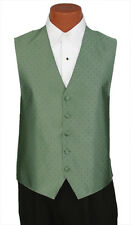 4XLarge Mens Ralph Lauren Peridot #63 Vineyard Wedding Prom Fullback Tuxedo Vest