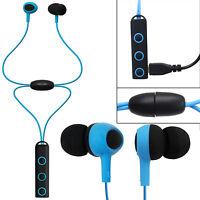 Bluetooth 4.1 Wireless Sport Headphone Earphone Stereo Ear Hook Earbud For Phone