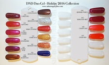 DND Daisy Duo Gel w/ Matching nail polish lacquer - 622 MIDNIGHT BLEU