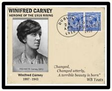 Ireland Easter 1916 Rising,  Winifred Carney Commemorative Card FREE POSTAGE.
