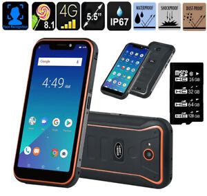 "4G Unlocked 5.5"" Land X3 Rover Rugged Smartphone MTK6739QuadCore IP67 Phone"