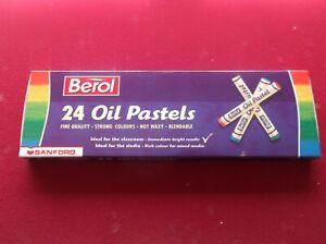BEROL 24 OIL PASTELS