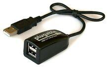 Plugable USB 2.0 2-Port High Speed Ultra Compact Hub Splitter (480 Mbps)