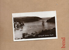 Dartmouth Harbour Mouth Real photo sepia unposted Harvey barton and son art