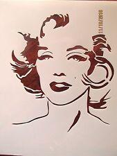 Marilyn Monroe Stencil 10 mil Mylar Reusable Stencil