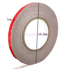 SAFETY REFLECTIVE TAPE 1CM X 45M ROLL STRIPE SELF-ADHESIVE FOR CARS/BIKES RED