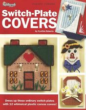 Switch-Plate Covers Plastic Canvas Patterns 12 designs Needlecraft Shop 846522