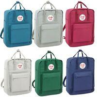School Bag Backpack Rucksack with Handles Girls Boys Multi Colour Trendy Work