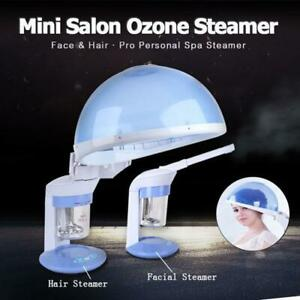 Portable Facial and Hair Steamer OZone Spa Salon Face Skin Care Steam Machine
