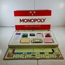Vintage Waddingtons Monopoly Original Classic 1972 Edition Board Game Complete.