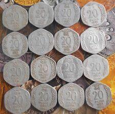 28 Coins MINT SET - Complete - 1982 1983 .. 1992 1994 1996 1997 - 20 Paise Alum